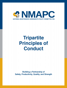 NMAPC - Tripartite Principals of Conduct-COVER