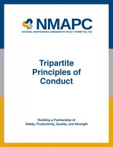 NMAPC - Tripartite Principals of Conduct-COVER