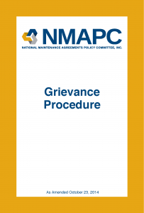 NMAPC_Grievance_Procedure-COVER